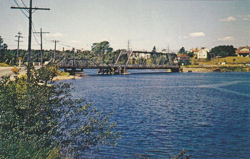 Sydney River Bridge , SYDNEY , Nova Scotia , Canada , 50-60s