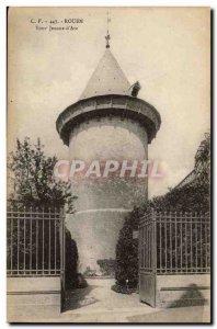Rouen Old Postcard Tour Jeanne d & # 39arc