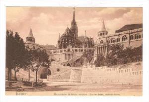 Halaszbastya Es Matyas Templom, Fischer-Bastel, Budapest, Hungary, 1900-1910s