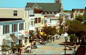 New Jersey Cape May Washington Street Mall