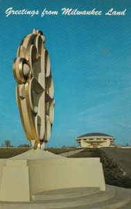 WAUWATOSA, Wisconsin, 50-60s ; Frank Lloyd Wright Church of the Annunciation