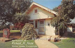 Birthplace of Richard M Nixon