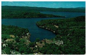 Postcard - Lake Sunapee From Sunapee Harbor, New Hampshire