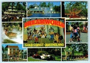 COOMERA, QUEENSLAND, Australia ~ Amusement Park DREAMWORLD  4 x 6 Postcard