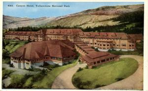 WY - Yellowstone National Park. Canyon Hotel
