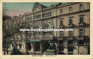 spain, BARCELONA, Teatro del Liceo, Opera House, Theatre (1930s)