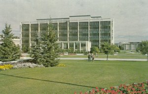 CALGARY, Alberta, Canada, 1950-1960s; University Libary