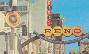 Fantastic Gateway to Renos Casino Area Reno Nevada