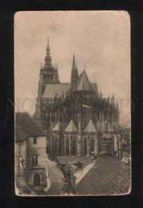 059527 Czechia Praha Cathedrale Vintage PC
