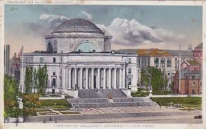 New York City Columbia University Library