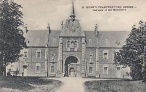 St Hughs Charterhouse Sussex Antique Postcard