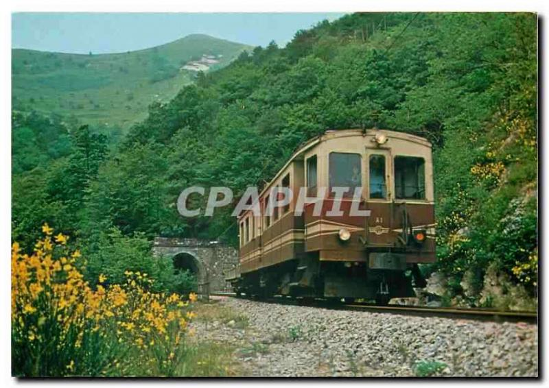 CPM Ferrovia Genova Casella Electric railcar and freight trailer
