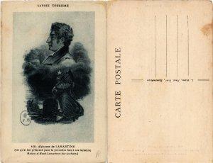 CPA AK ALPHONE DE LAMARTINE WRITER (500354)