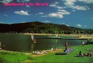 Idaho Hope Lake Pend Oreille Sandpoint City Beach