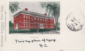 MEDFORD, Massachusetts, PU-1903; High School
