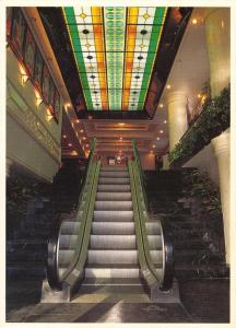 Postcard Escalator of Phoenicia Hotel BAHRAIN Middle East