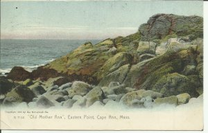 Old Mother Ann, Eastern Point, Cape Ann, Mass- Rotograph