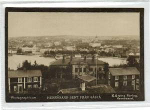sweden, HERNÖSAND, Panorama (1890s) Photographicum