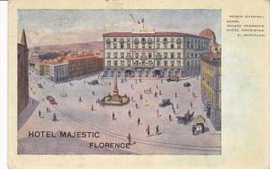 Hotel Metropole, Hotel Majestic, FLORENCE (Tuscany), Italy, 1900-1910s