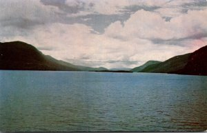 New York Lake George Looking South From Sabbath Day Point 1953