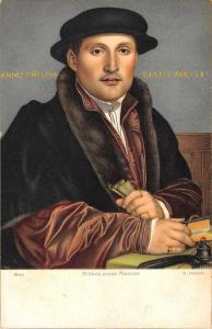 BR95084 h holbein bildnis eines mannes 29755 edition stengel painting postcard