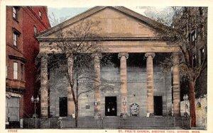 St. Paul's Church in Boston, Massachusetts erected 1820.