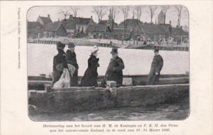 Koenigin & Prins Zeeland 18-24 Maart 1906