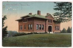 Amherst, Mass, Wilder Hall, M. A. C.