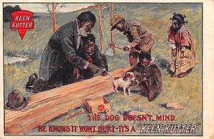Keen Kutter Advertising, Nebraska USA writing on back