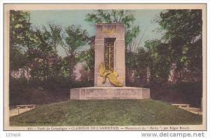 Foret De Compiegne- Clairiere De L'Armistice, Monument Du Matin, Par Edgar ...