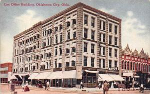 11900 OK  Oklahoma 1910  Lee Office Building, 1st State Bank, Savoy
