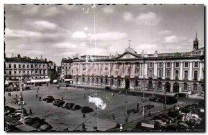 Postcard Old Toulouse Capitol Square Hotel De VIlle