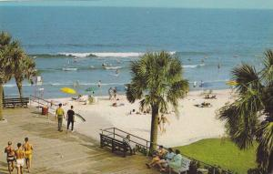 The Board Walk Is An Ideal Place To Spend Many Leisure Hours, Myrtle Beach, S...