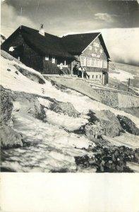 Romania Muntii bucegi cabana varful cu dor  Postcard