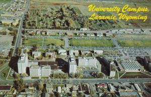Wyoming Laramie Aerial VIew University Of Wyoming