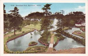 Alaska Ketchikan Scene In Ketchikan Park