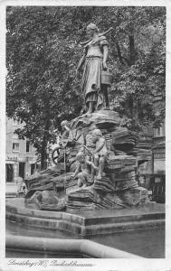 Landsberg Paukschbrunnen Statues Fountain