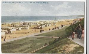 Norfolk; Gorleston On Sea, The Sands & Parade PPC By Photochrom, 1926 PMK