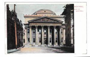 Canada Montreal Bank UDB Postcard Vintage ca 1905