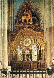 carte postale France Beauvais Cathedrale aspect intérieur Horologe astronomique