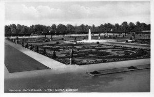 Hannover Herrenhausen Grosser Garten Luststuck Fountain Statues Postcard