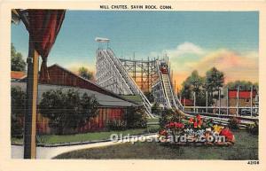 Mill Chutes Savin Rock, Connecticut, CT, USA Unused