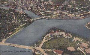 Aerial View of Tampa, Florida, PU-1949