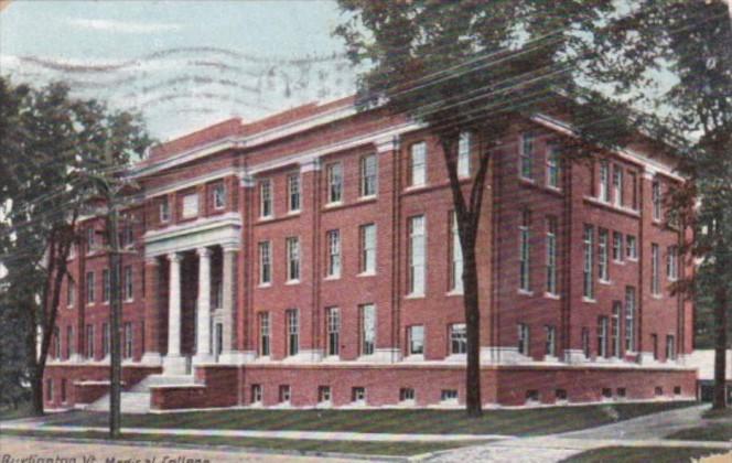 Vermont Burlington Medical College 1910