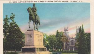 Wade Hampton Monument , Columbia , South Carolina , 1930-40s