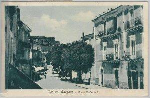 49835   CARTOLINA d'Epoca - FOGGIA provincia : Vico del Gargano 1914