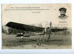 205419 FRANCE AVIATION Sommer airplane pilot VISSEAUX 1543