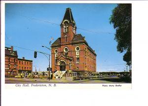 City Hall, Frederiction, New Brunswick, Photo Marty Sheffer