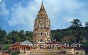 Pagoda Kek Lok See Temple, Ayer Itam Penang Malaysia 1915