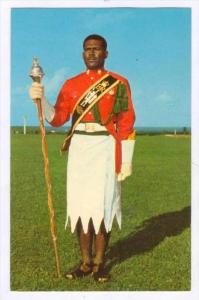Sgt. Epeli Rayawa , Drum Major, Fiji Military Band, 40-60s